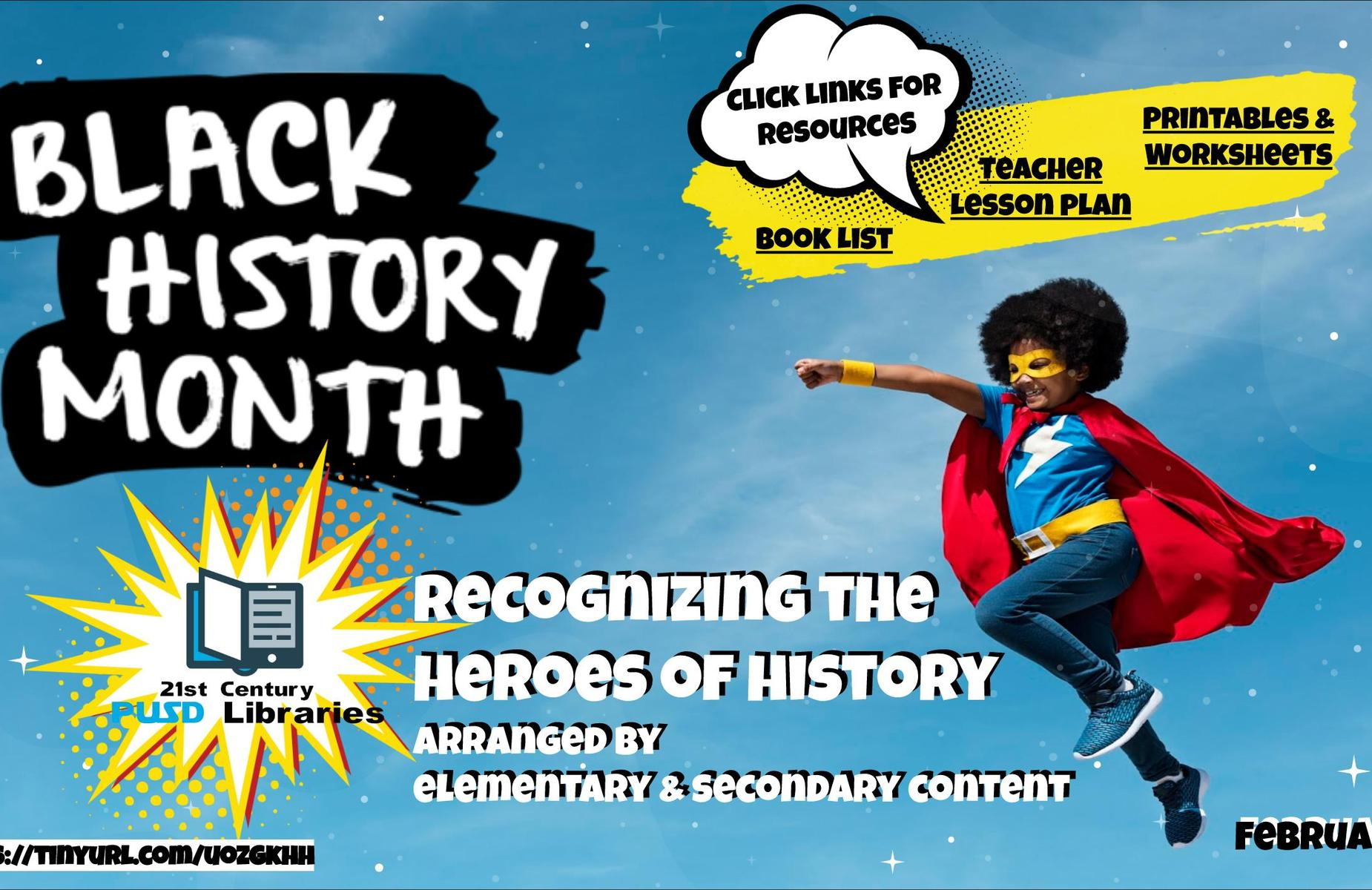 click image for Black history month resources