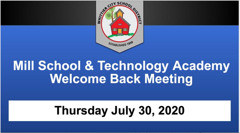 MSTA School Update Presentation