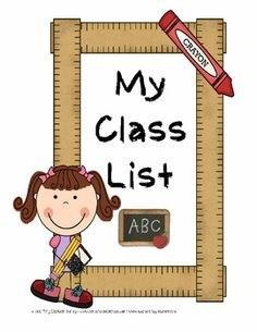 Class Lists Thumbnail Image
