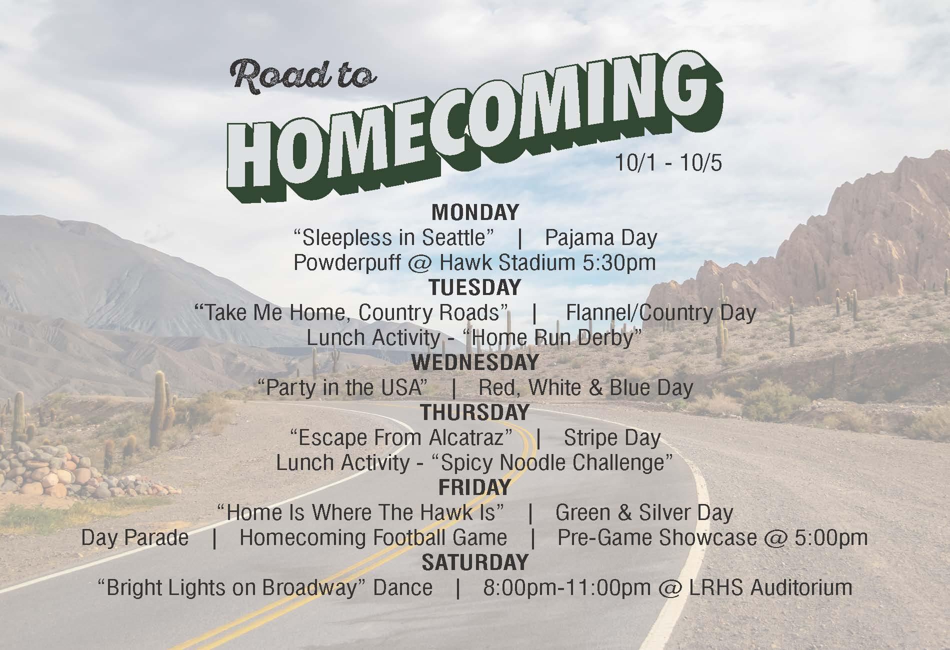 Homcoming Week