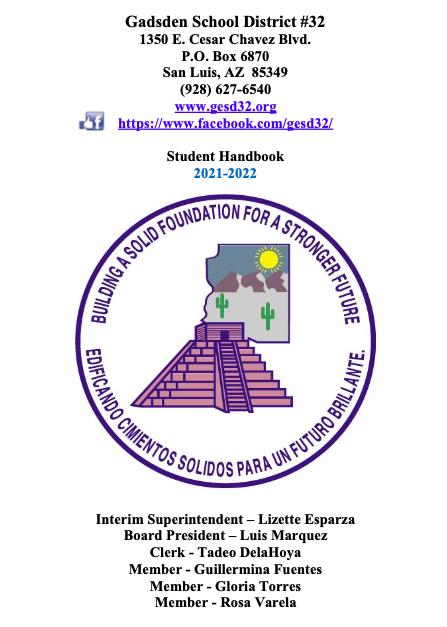Student Handbook - Spanish 21-22 Featured Photo