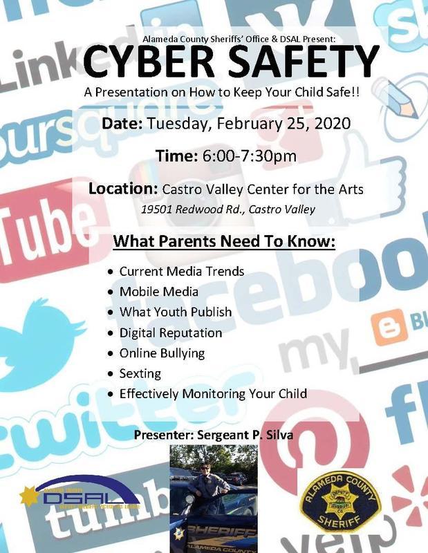 Cyber Safety Flyer