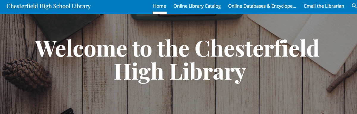 Chesterfield High Library Website