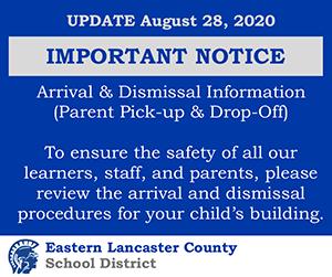 Important Notice Arrival & Dimissals Image