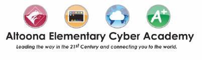Altoona Elementary Cyber Academy Logo