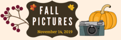 Fall pictures are november 14, 2019