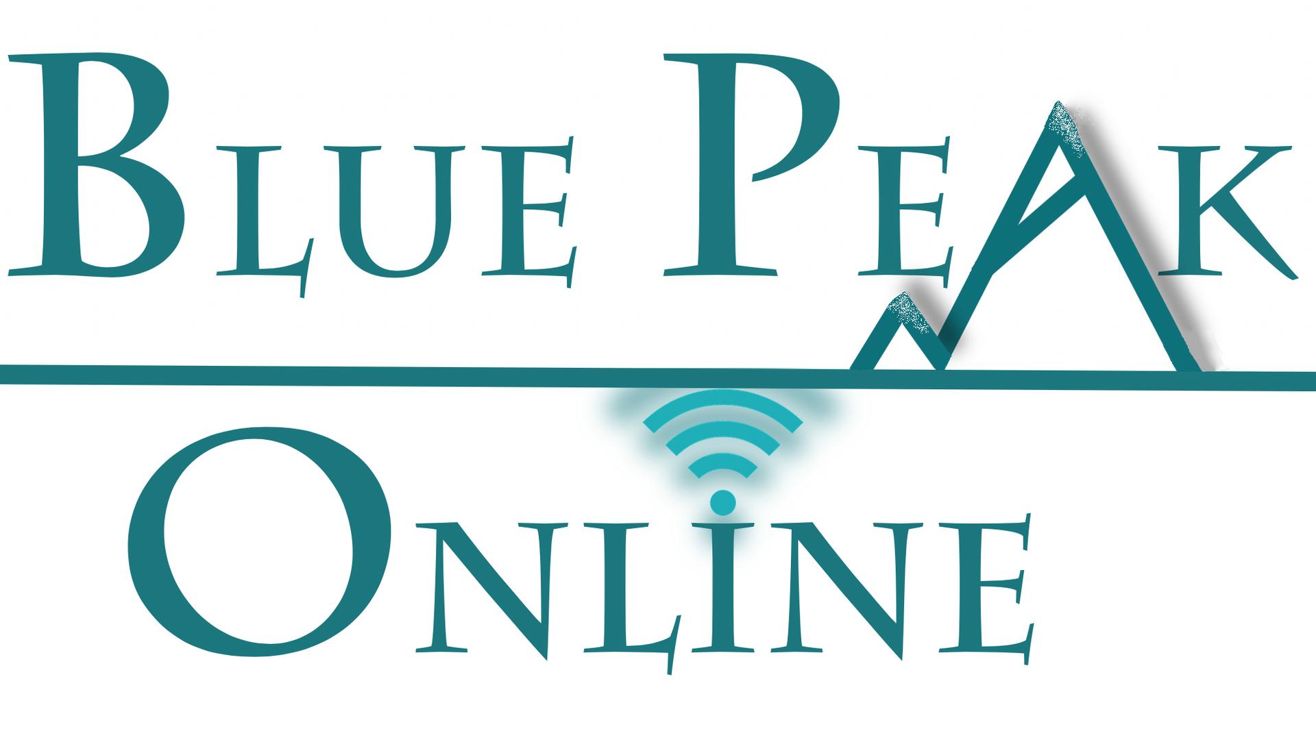 Blue Peak Online Logo