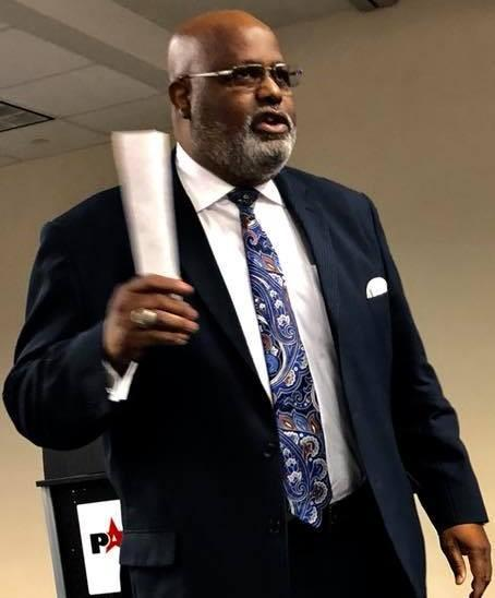 Assistant Superintendent, Dr. Melvin Getwood