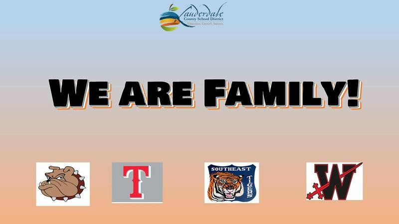 LCSD We Are Family Graphic