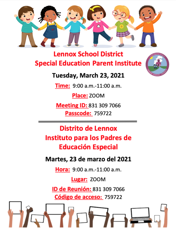 Special Education Parent Institute