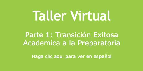Taller Virtual del 8o Grado (Español)
