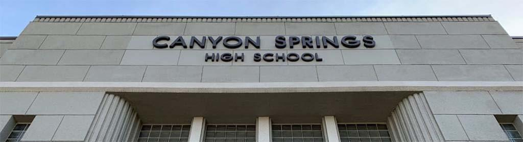 Canyon Springs High School