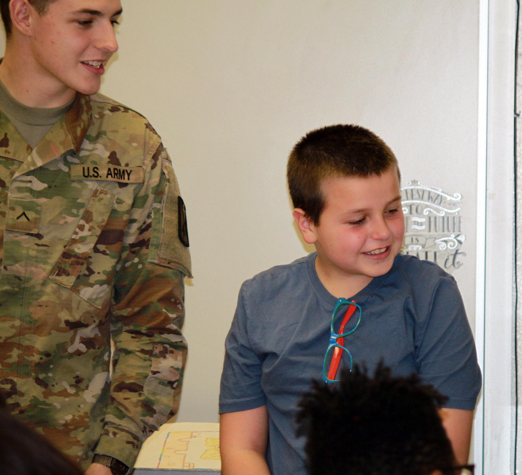 LMS Soldier Visit - 122217