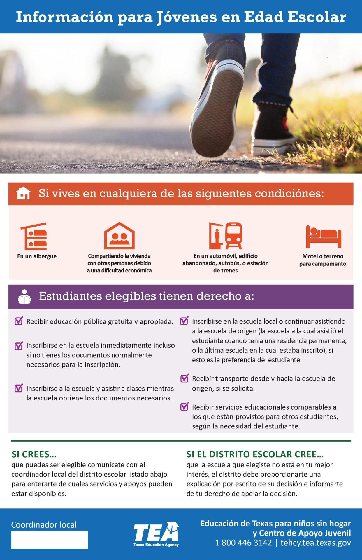 Information for Youth - Spanish