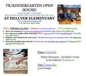 TK/K Open House Info