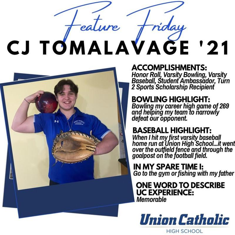 CJ Tomalavage Is Making His Presence Felt At Union Catholic Thumbnail Image
