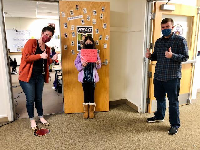 Mrs. Pasterick's students took on a reading challenge over spring break