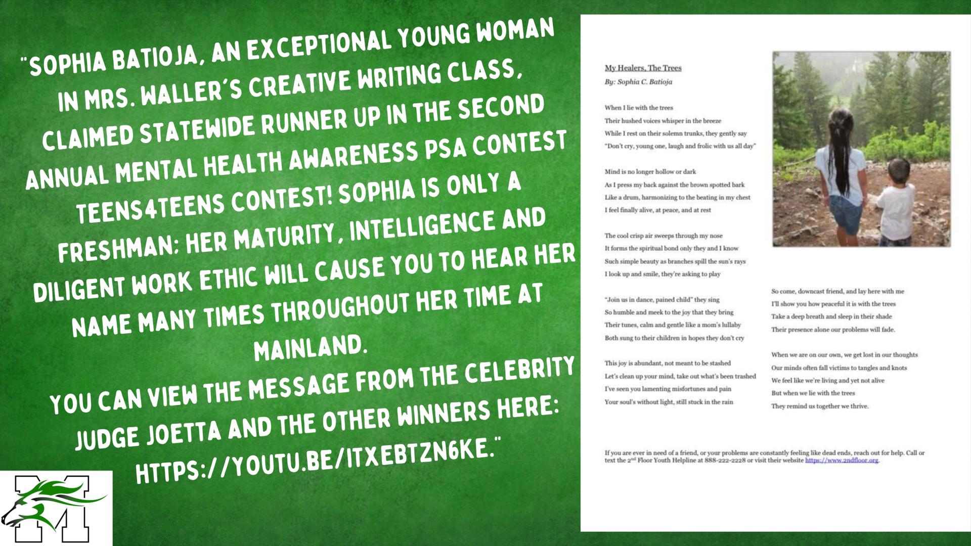 MHA contest winner