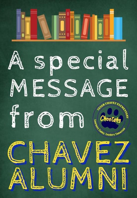 A message from CHAVEZ ALUMNI Featured Photo