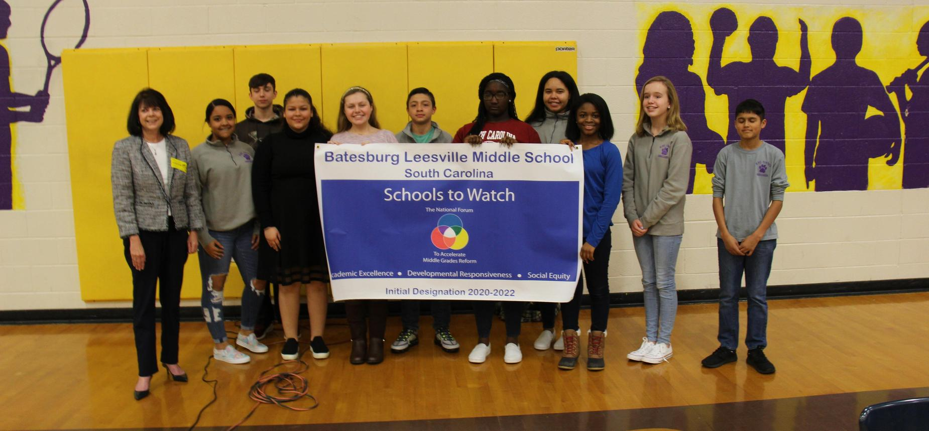 BLMS Named a School To Watch