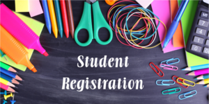 Student Registration supplies