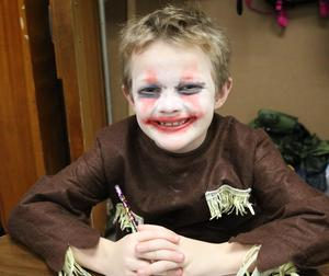 Photo of student dressed up for Halloween fun at Washington School.