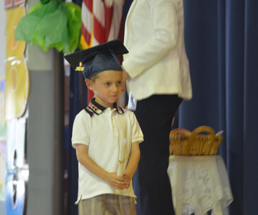 Pre-K Stepping Up Ceremony 2019