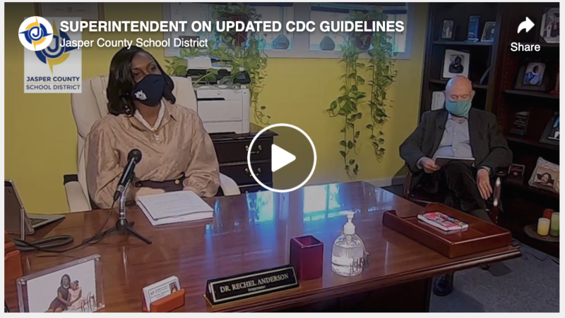 Superintendent on updated CDC Guidelines