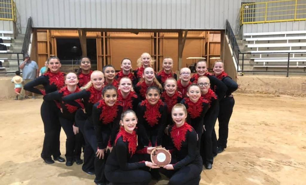 HMS Sparklers at Forest Festival competition