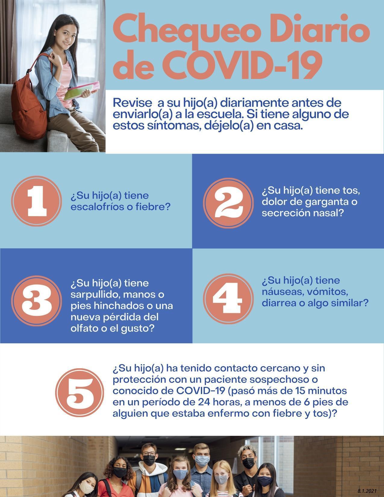 (spanish) COVID-19 screening