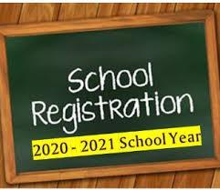 2020-2021 Registration Information. Please note the updated dates and times! Featured Photo