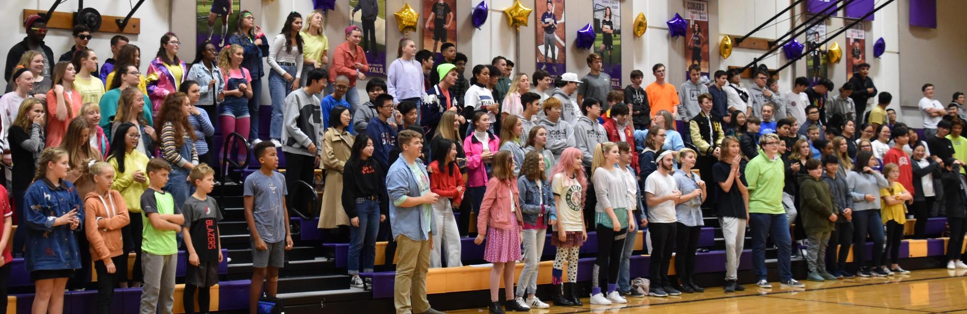 Students at Portland Christian Schools