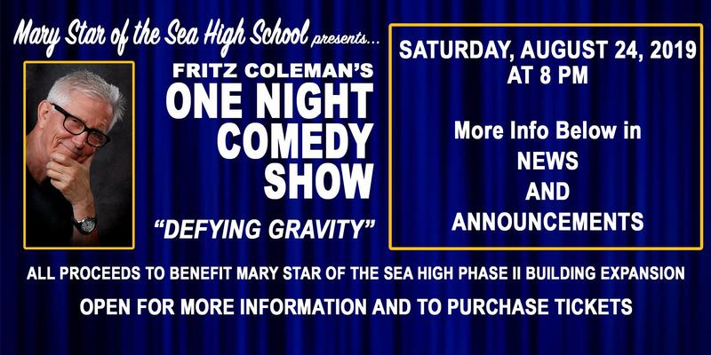 Fritz Coleman Comedy Show for MSHS Featured Photo
