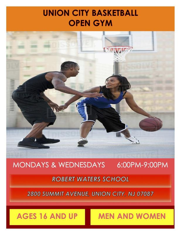 Basketball Games for Free flyer