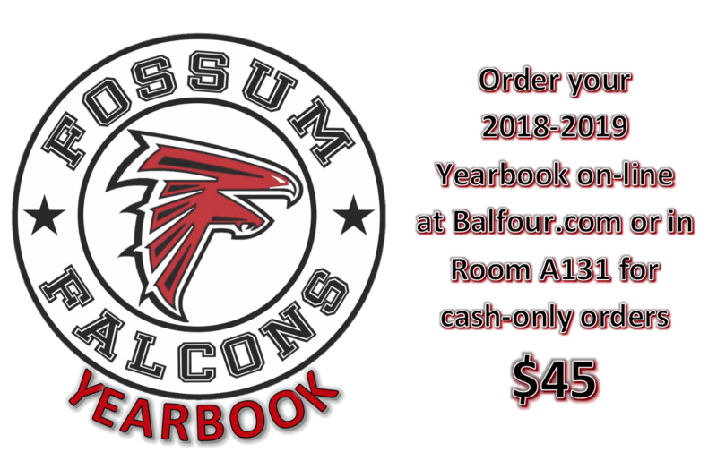 Order your yearbook for only $45!