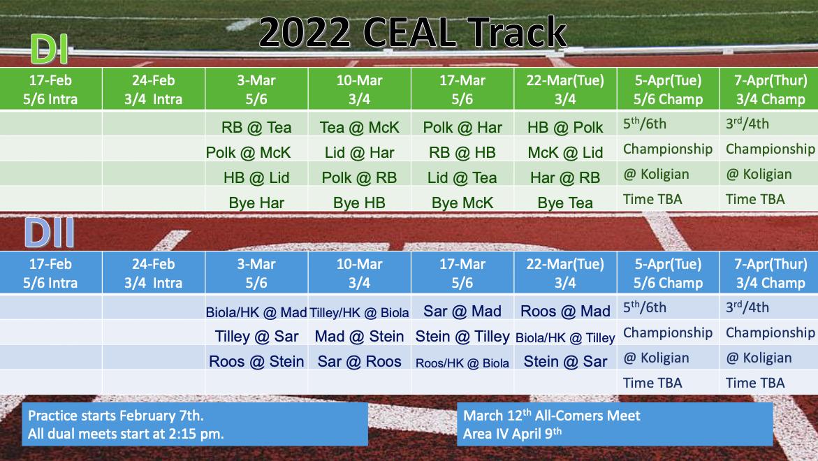 Spors Schedule
