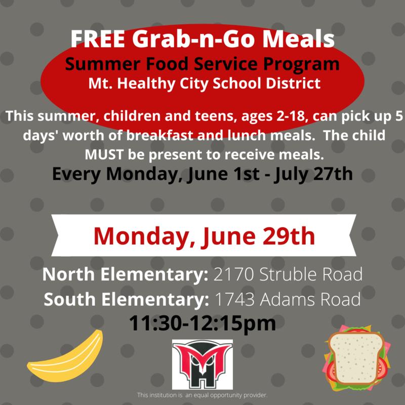 meal program flyer