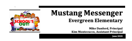 June Mustang Messenger