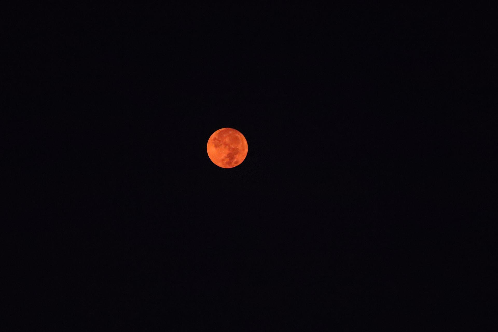 moon through the smoke