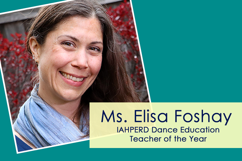 Image Foshay Dance Teacher of Year Banner