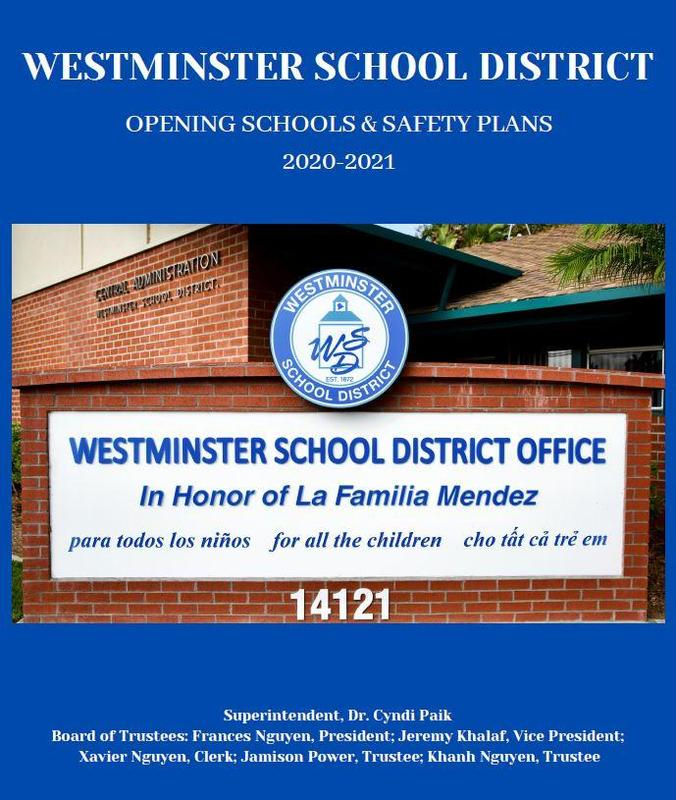 WSD re-opening schools graphic