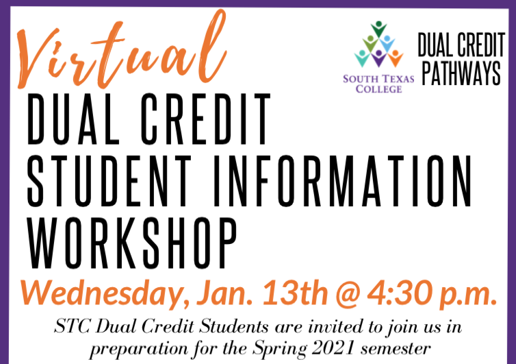 Virtual Dual Credit Student Information Workshop Featured Photo