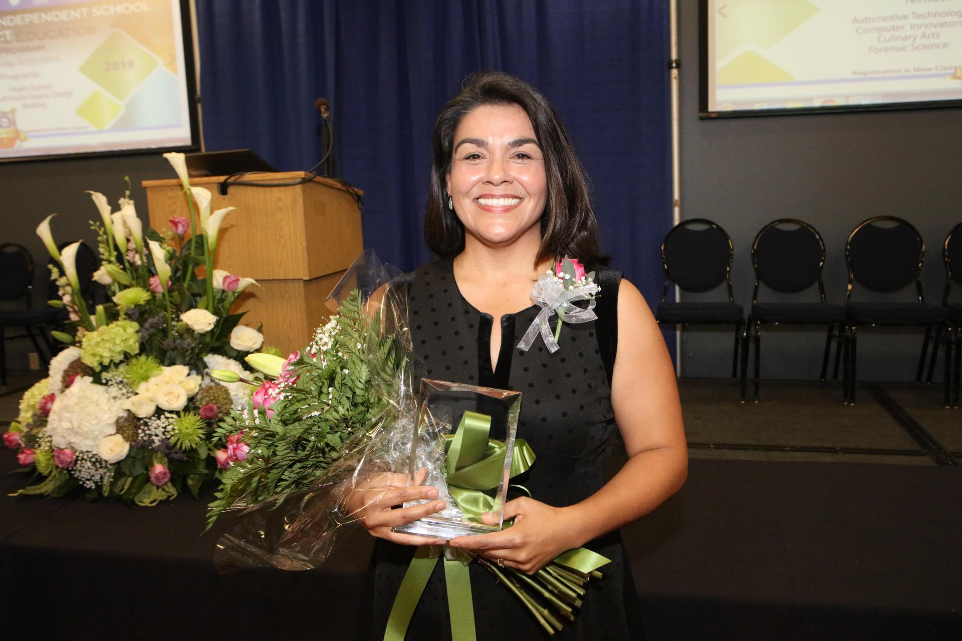 2019-2020 District Secondary Teacher of the Year, Delia Perez