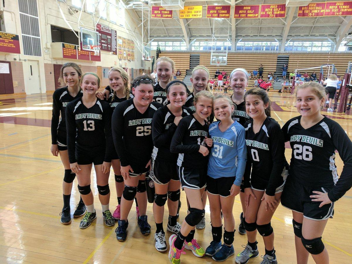 2017-2018 GMS Volleyball