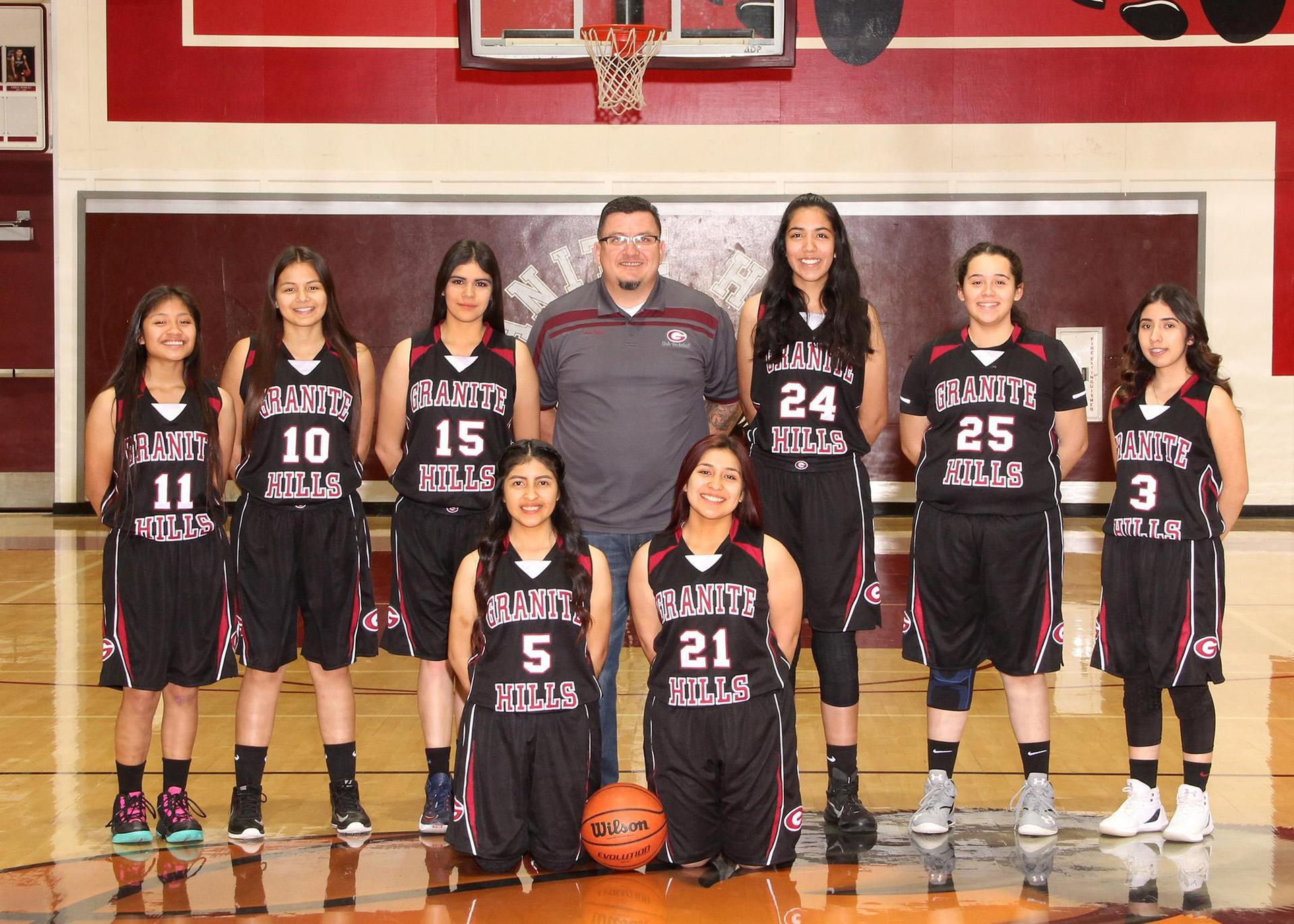 JV Lady Grizzly Basketball