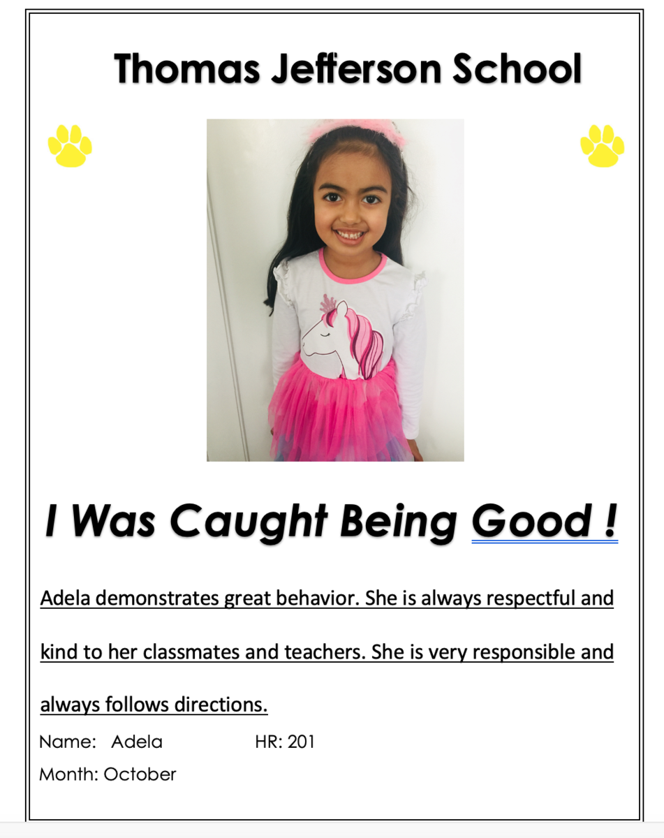 Adela was Caught Being Good!