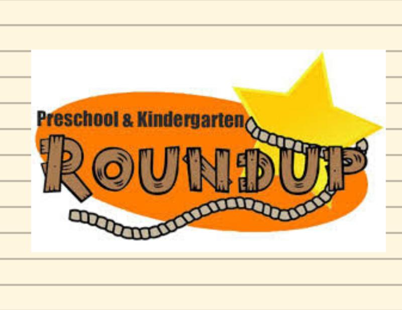 Pre K & Kindergarten Round Up