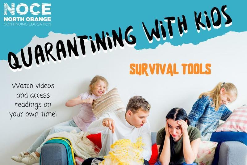 Quarantining with kids