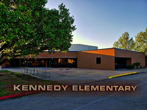 Kennedy Elementary GLOW RUN Event April 2021