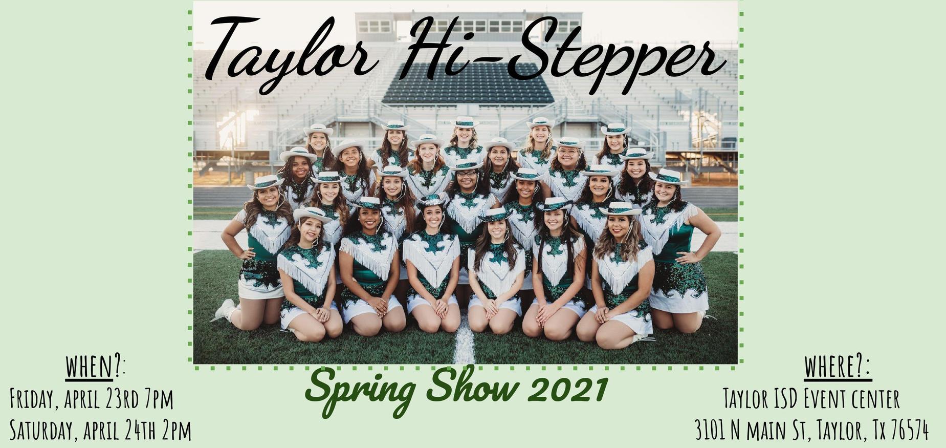stepper spring show 2021
